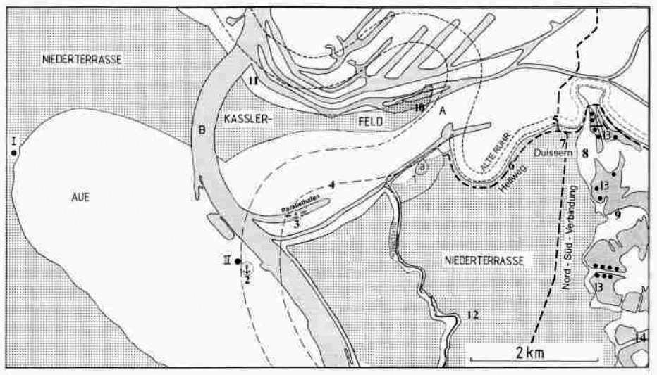 Rheinverlagerungen