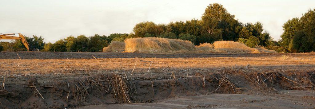 Grabungsfläche Archäologie