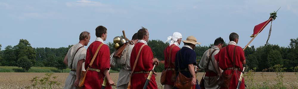Römer wandern