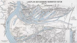 Ruhrorter Häfen 1908
