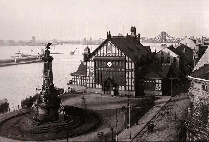 Ruhrort und Hafen. Die Schifferbörse
