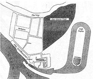 Ruhrort und Hafen. Ruhrort nach 1820