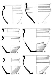 Keramik. Der römische Burgus von Moers-Asberg