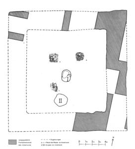 Die Überreste des Innenturmes