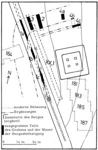 Rekonstruktionversuch der Außenbefestigung