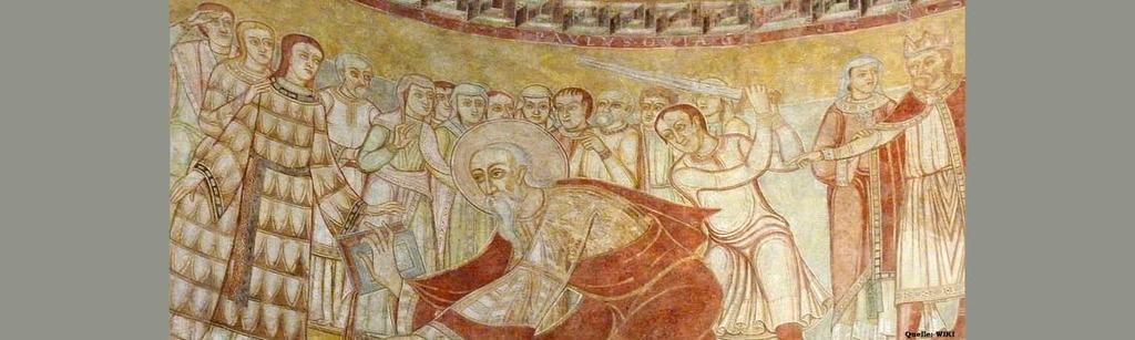 Heinrich IV Schwertweihe