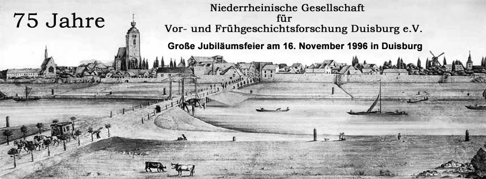 75 Jahre Jubiläumsfeier der Niederrheinischen Gesellschaft