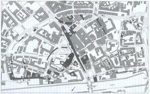 Ausgegrabene Fundstellen in der Duisburger Altstadt