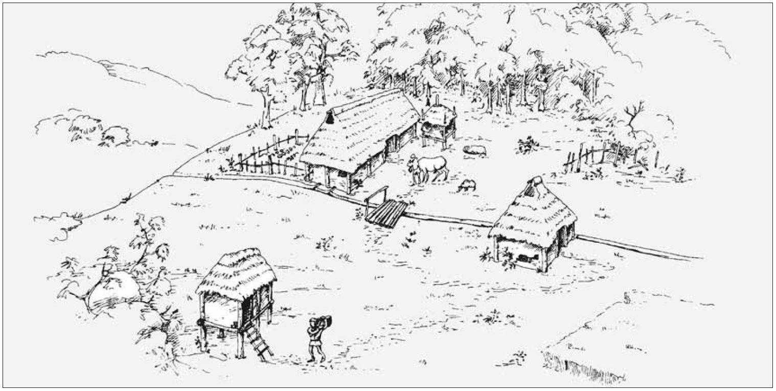 Wohnen in der Eisenzeit