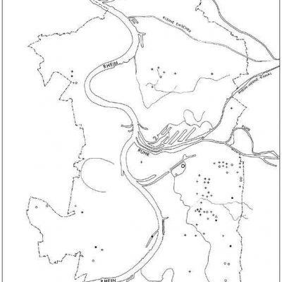 Bronze- und eisenzeitliche Fundstellen in Duisburg